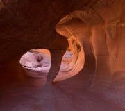 Windstone曲拱,火国家公园谷  库存照片
