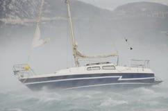 Windstorm Royalty-vrije Stock Afbeeldingen