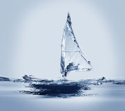 Windsurf ветрило Стоковые Изображения