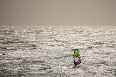 Windsurf в Фуэртевентуре стоковые фотографии rf
