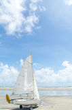 Windsurf шлюпка Стоковое фото RF