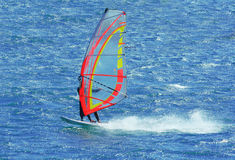 windsurf Στοκ εικόνα με δικαίωμα ελεύθερης χρήσης