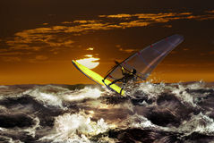 Windsurf Fotografia Stock