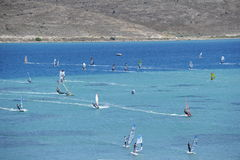 Windsurf Royalty Free Stock Images