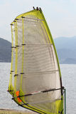 Windsurf. Ing sails ready for fun Royalty Free Stock Photography