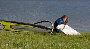 windsurf Zdjęcie Royalty Free
