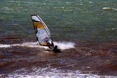 windsurf Immagine Stock Libera da Diritti