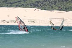 Windsurf 5 Stock Photo