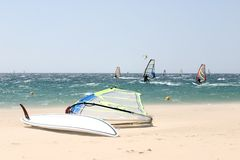 Windsurf 7 Stock Image