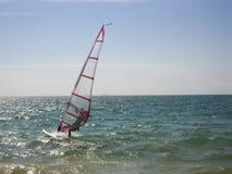 Windsurf aquatic sport Royalty Free Stock Images