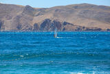 Windsurf, Baska sea in Croatia Royalty Free Stock Image