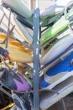 Windsurf boards background Royalty Free Stock Image