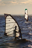 Windsurf competition royalty free stock images