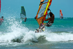 Windsurf competition Royalty Free Stock Image