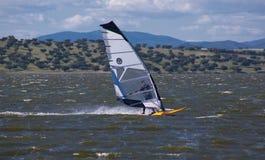 Windsurf en Campomaior Fotografía de archivo