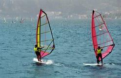 Windsurf Garda Royalty Free Stock Photos