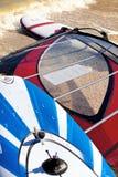 Windsurf les panneaux Photo libre de droits