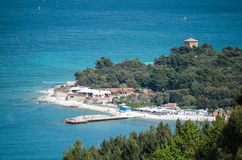 Windsurf in Portonovo Royalty Free Stock Photo
