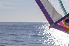 Windsurf sail background Royalty Free Stock Images
