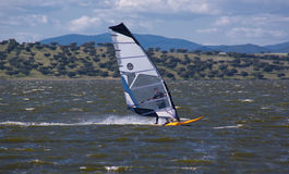 Windsurf w Campomaior Fotografia Stock