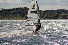 Windsurf w Campomaior Zdjęcia Stock