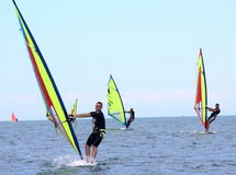 Windsurf, windsurfer class Royalty Free Stock Photo
