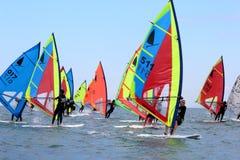 Windsurf, windsurfer class Stock Photography