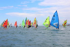 Windsurf, windsurfer class Royalty Free Stock Photography