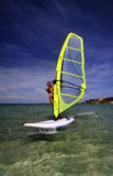 Windsurf women Royalty Free Stock Photos