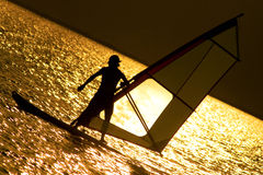 Windsurfe foto de stock royalty free