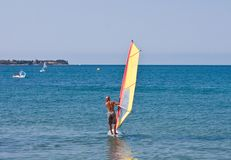 Windsurfe Imagem de Stock