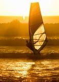 Windsurfer 2, Кейптаун, Южная Африка Стоковое Фото