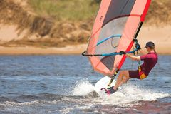 Windsurfer #03 Photos stock