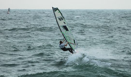 Windsurfer 11 Royalty Free Stock Photos