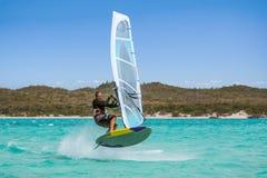 windsurfer Στοκ εικόνα με δικαίωμα ελεύθερης χρήσης