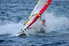 Windsurfer Stockfoto