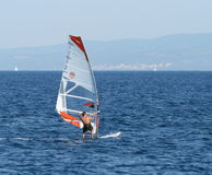 Windsurfer Photo stock