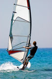 Windsurfer Royalty Free Stock Photo
