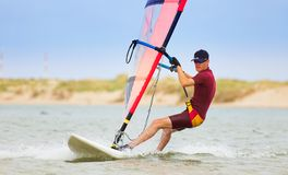 Windsurfer #27 Photos stock