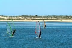 Windsurfer Photographie stock libre de droits