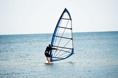 Windsurfer stockfotografie