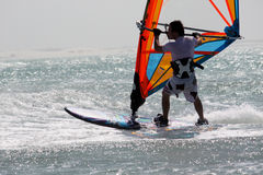 Windsurfer Stockbild
