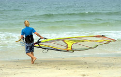 Windsurfer 5 Stock Photo