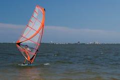 Windsurfer foto de stock