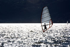 windsurfer Fotografia Royalty Free