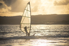 windsurfer Foto de Stock Royalty Free