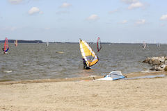 Windsurfer Stock Foto