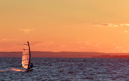 Windsurfer Royalty Free Stock Images