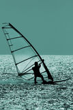 windsurfer Obraz Royalty Free