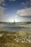 WINDSURFER-aegean ocean Royalty Free Stock Photos